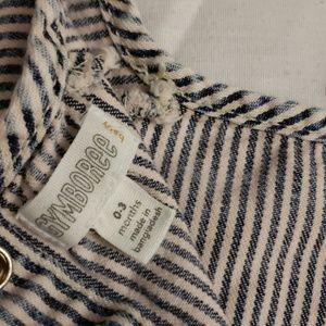 Three pants & One dress (1) Gymboree stripe dress